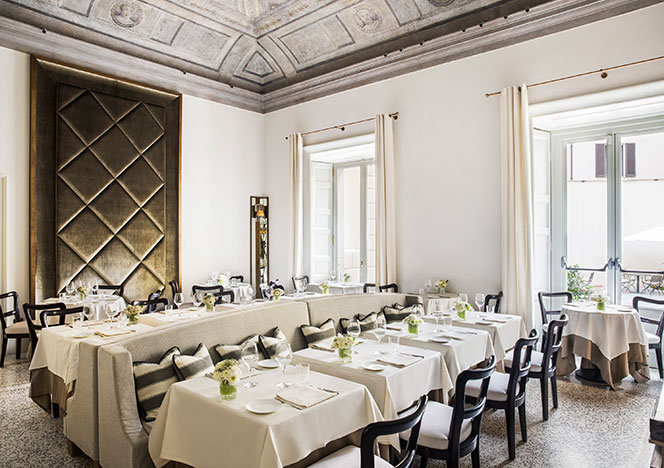 AB Concept: ресторан в миланском палаццо