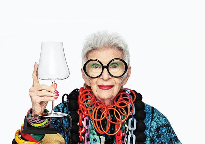 Iris Apfel х Nude: поднимем бокалы!