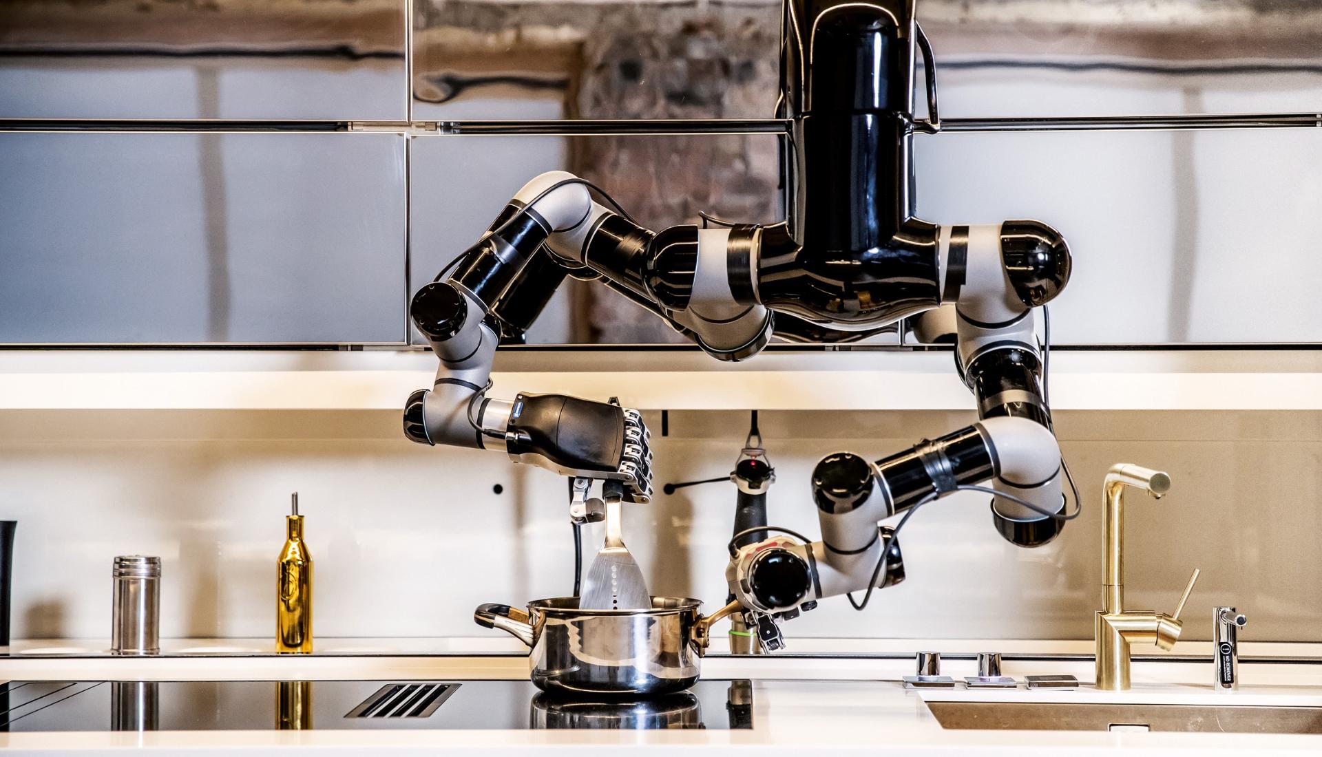 Тренды 2020/2021: роботизированная кухня