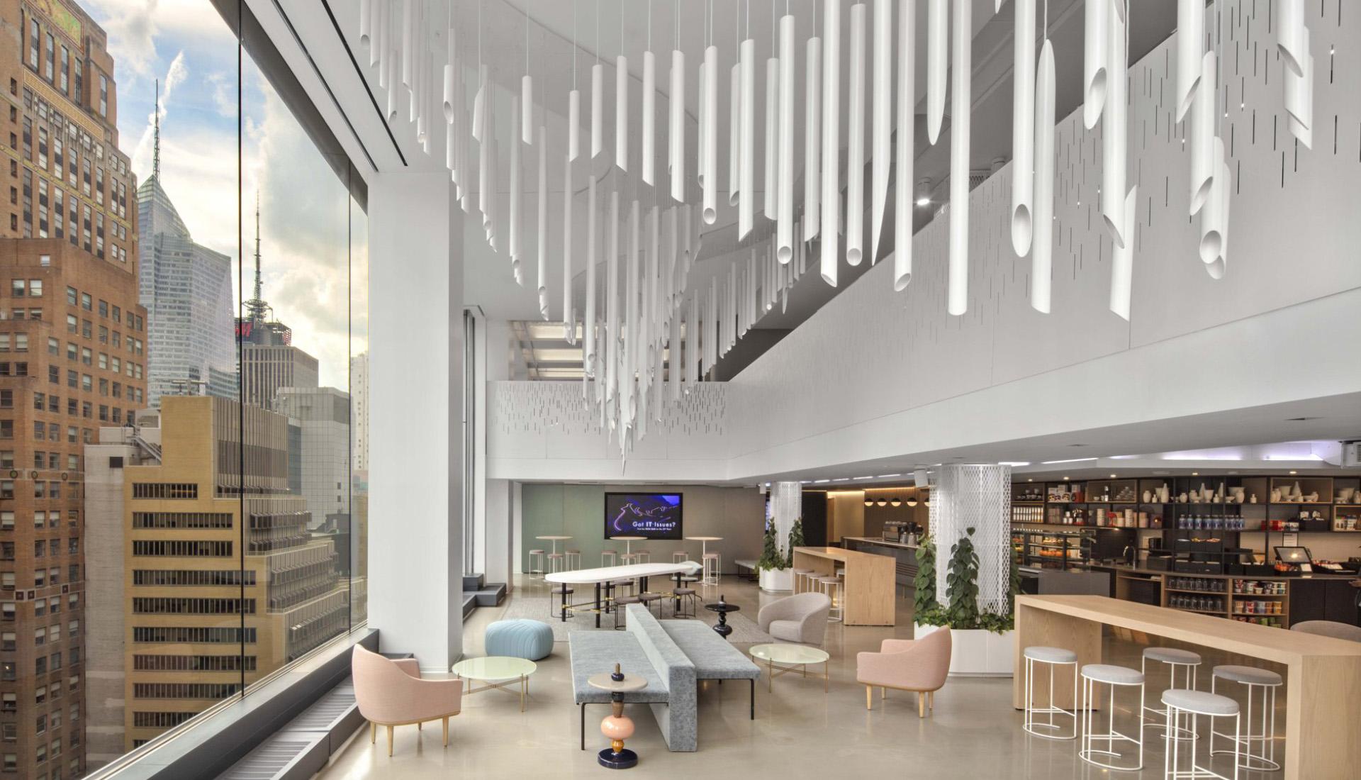 HOK: нью-йоркский офис компании Shiseido