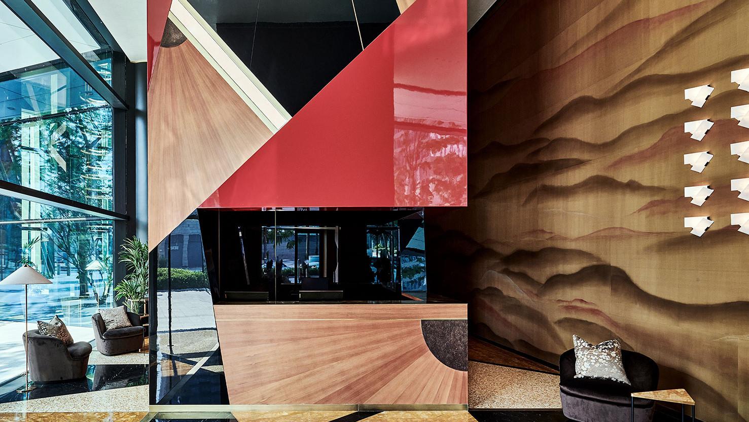 Dimorestudio: интерьеры клуба Чарльза Диккенса в Дубае
