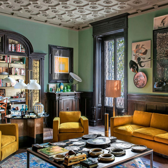 Dimore Studio: винтажный шик в Милане