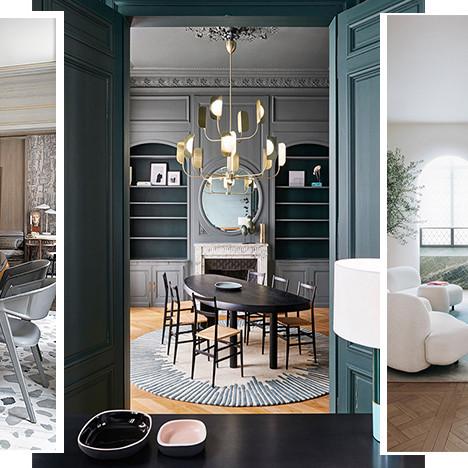 Ковер в гостиной и столовой: 80 примеров