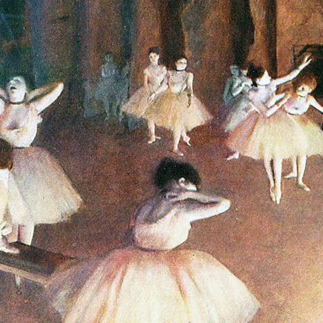 Оперный театр Дега на выставке в Париже