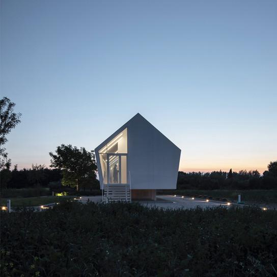 Маленький дом-теплица в Сан-Миниато