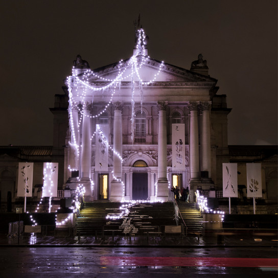 Рождество в музее Tate Britain