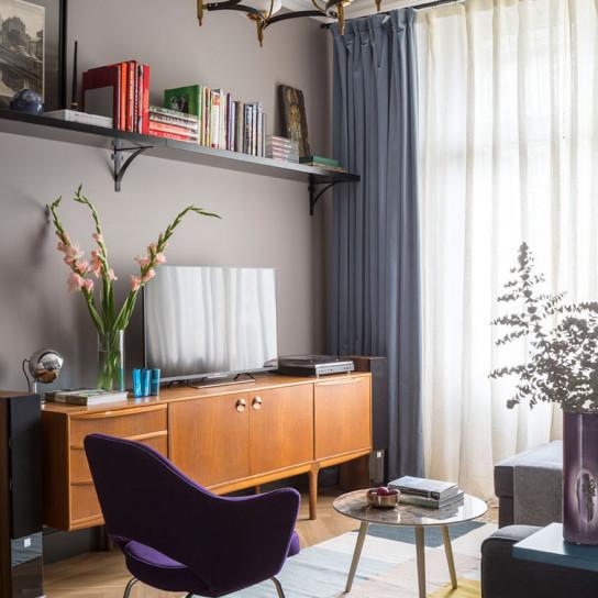Елена Зуфарова: небольшая квартира в старом доме
