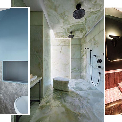 Цвет в ванной комнате: 50 идей для оформления пространства