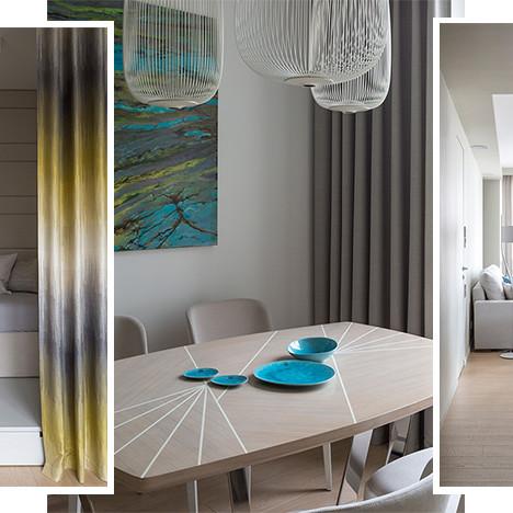 TS-Design: светлая квартира с динамичным декором