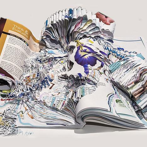 Норико Амбе для Hermès: бумага вместо глины