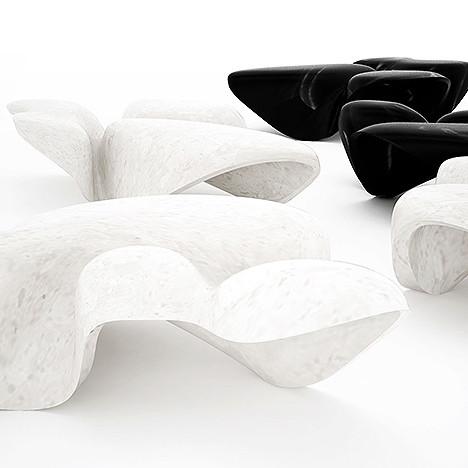 Мраморные столики Захи Хадид: 156 000 долларов для музея