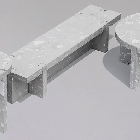 Bentu Design: мебель из фарфоровых осколков