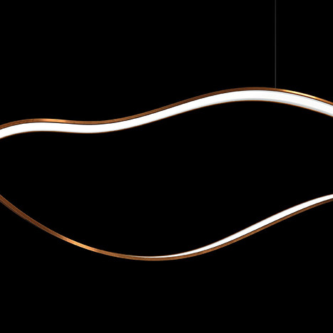 Массимо Кастанья (Massimo Castagna): светильник-лента для Henge