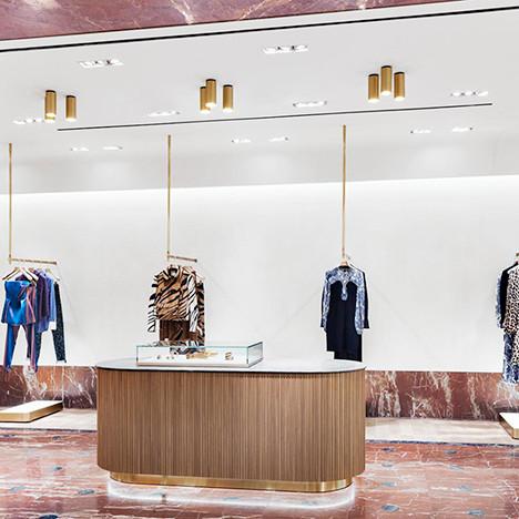 Флагманский бутик Roberto Cavalli в Берлине