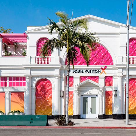 Временный бутик-музей Louis Vuitton в Лос-Анджелесе