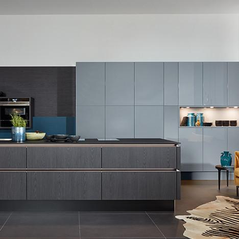 Современная кухня: новые текстуры отделки