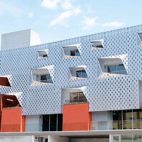 Уоррен Техентин: дом с разноцветными фасадами