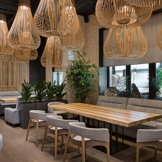 Sergey Makhno Аrchitects: японский ресторан с украинской душой