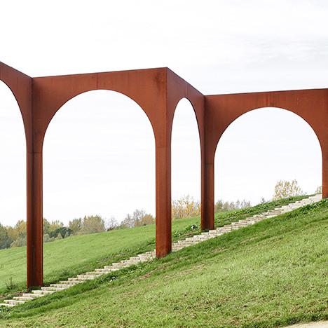 Gijs Van Vaerenbergh: аркада в бельгийской деревне