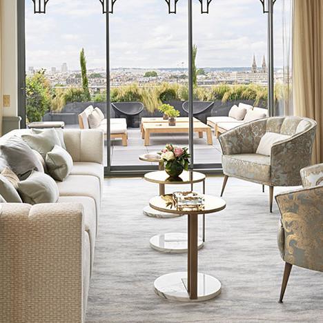 Пентхаус Belle Etoile в парижском отеле Le Meurice