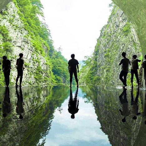 MAD architects: «туннель света» в Японии