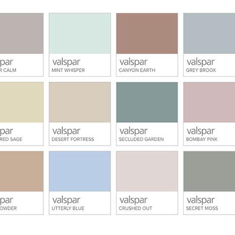 Цвет 2020 года: Valspar назвал 12 оттенков