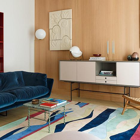 Agnes Rudzite Interiors: эклектичная квартира в центре Риги