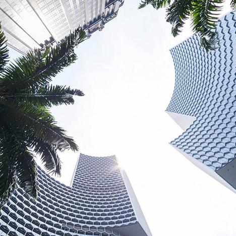 Оле Шерен: дуэт небоскребов в Сингапуре