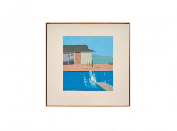 Шедевр Дэвида Хокни на торгах Sotheby's