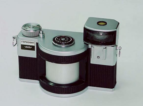 Советский дизайн: панорамный фотоаппарат «Горизонт»