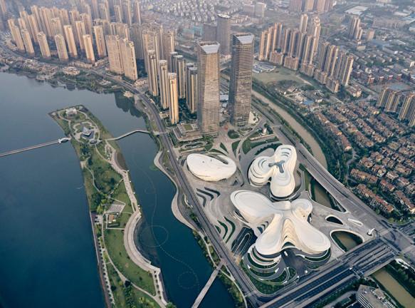 Международный центр культуры и искусства по проекту Zaha Hadid Architects