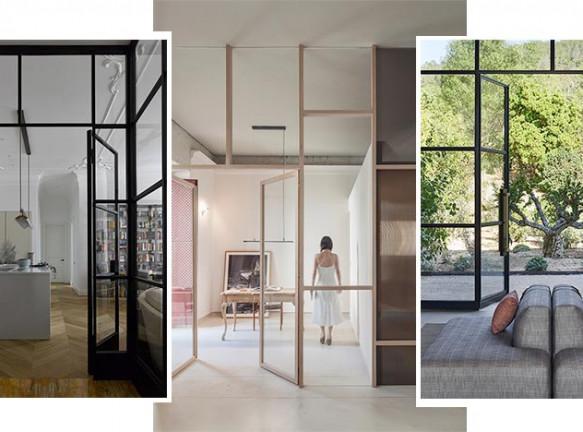 Лофт-перегородки: 35 решений для больших и маленьких квартир