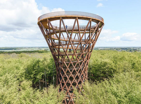 Смотровая башня в Дании