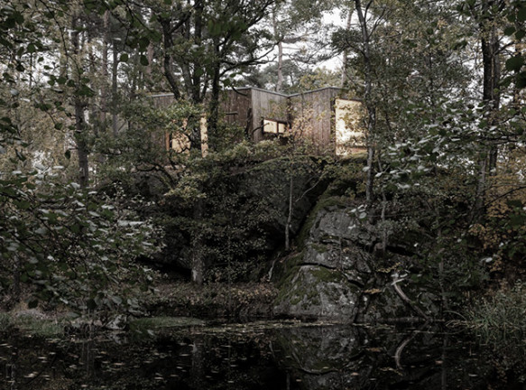 Пансионат Snøhetta в Норвегии: архитектура для здоровья
