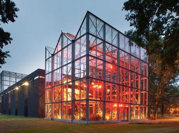 Марио Ботта: кампус с зоопарком
