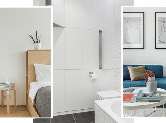 Room Design Büro: бюджетная квартира площадью 45 кв. метров