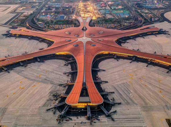 Крупнейший в мире аэропорт по проекту Захи Хадид