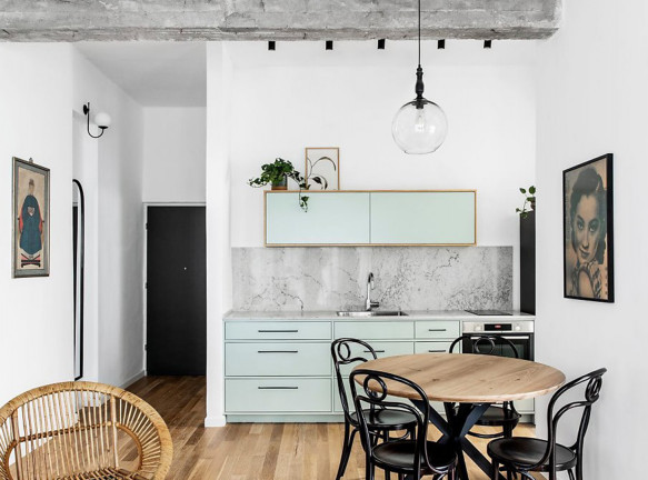 Danka Design: квартира 50 кв. метров в центре Тель-Авива