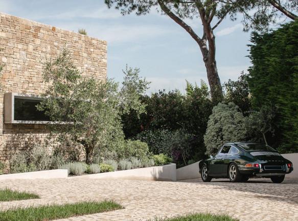 Caprini & Pellerin Architectes: семейная вилла на Лазурном берегу