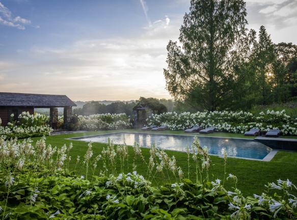 Сад по проекту Land Morphology в Коннектикуте