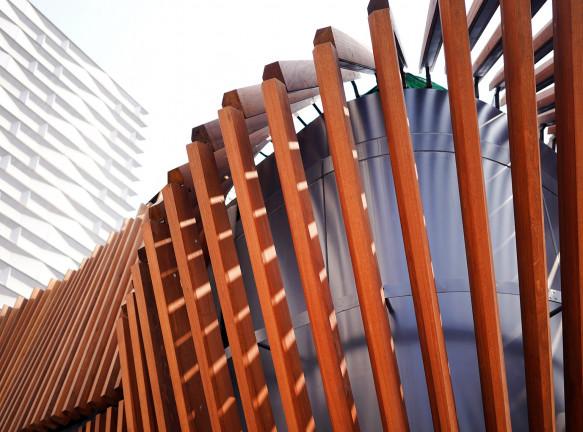 Кинетическая архитектура: павильон LAAB Architects в Гонконге