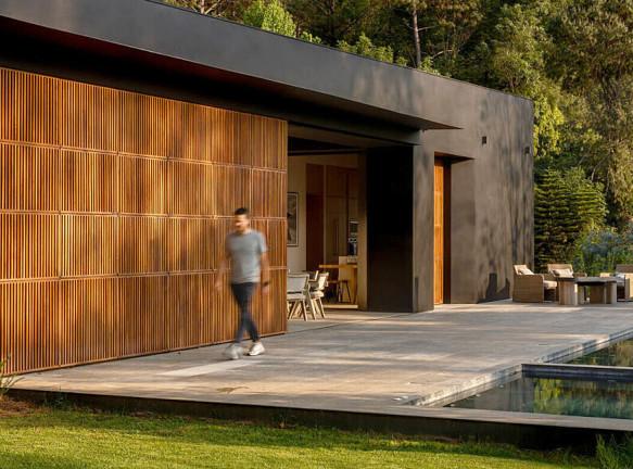 Загородный дом в штате Мехико по проекту PPAA