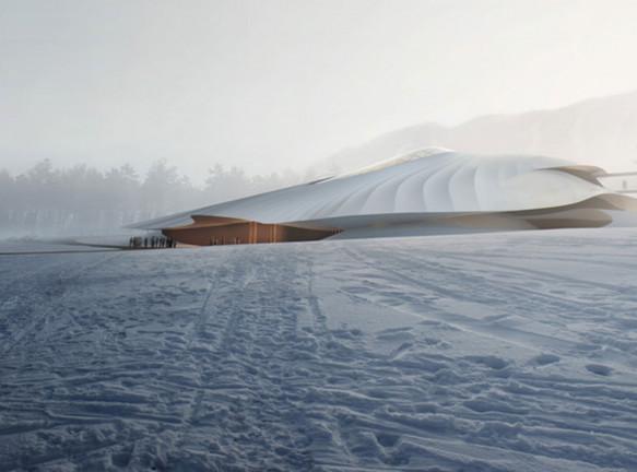 Конгресс-центр по проекту MAD Architects