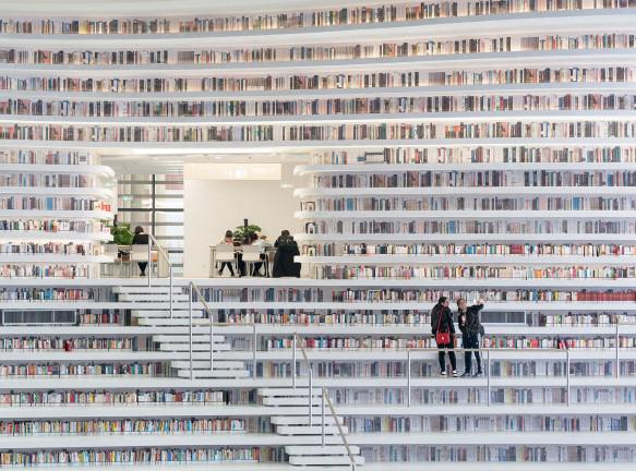 Библиотеки и книжные магазины: 10 проектов