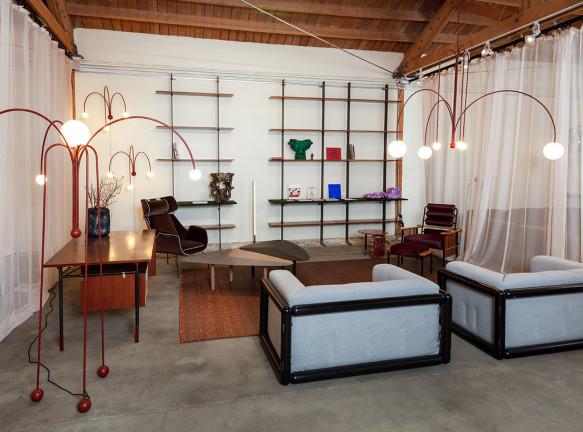 Nilufar: 150 работ европейского дизайна на выставке в Лос-Анжелесе