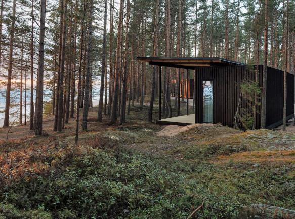 Префаб-отель в Карелии по проекту бюро Rhizome
