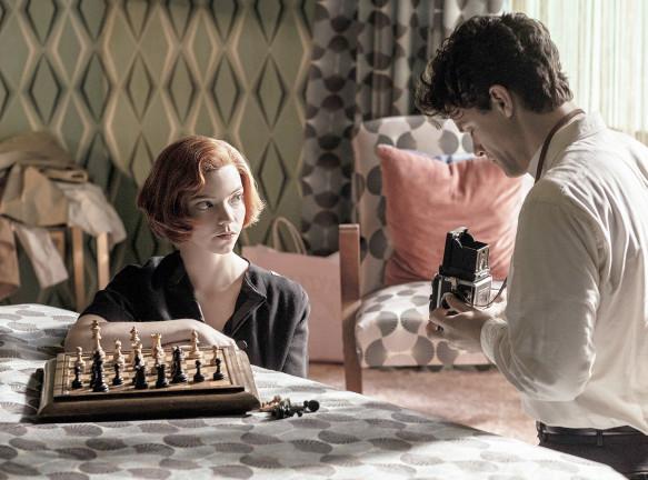 Интерьеры из кино: комната из сериала Netflix «Ход королевы»