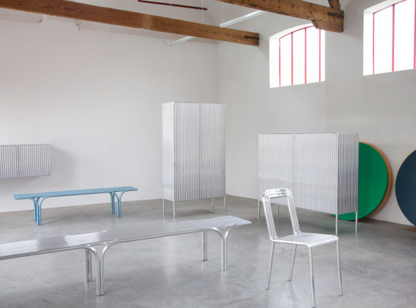 Muller Van Severen: мебель из алюминиевых трубок