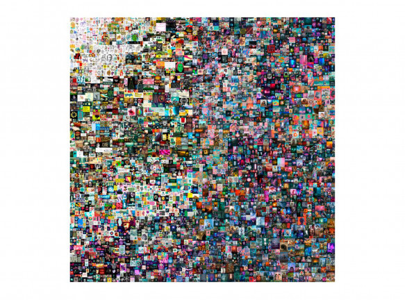 Цифровое произведение искусства продано за 69 млн. долларов