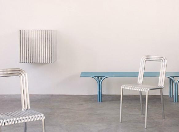 Алюминиевая мебель Muller Van Severen